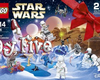 LEGO Star Wars Advent Calendar Day 5 -75146