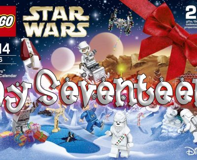 LEGO Star Wars Advent Calendar Day 17 -75146