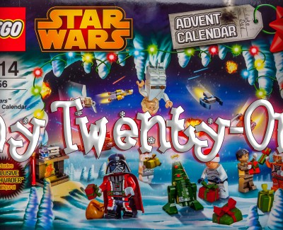 LEGO Star Wars Christmas Calendar Day 21