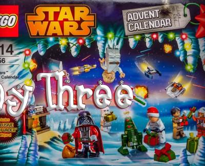 LEGO Star Wars Christmas Calendar Day 3