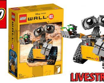 LEGO Ideas WALL-E 21303 – Let's Build