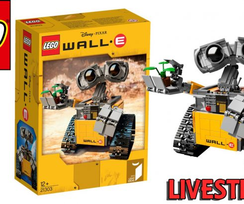 LEGO Ideas WALL-E 21303 – Let's Build