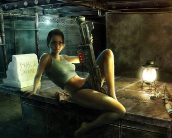 10 Paintings of life in an Apocalyptic World