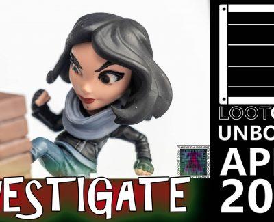 Loot Crate – April 2017 Investigate