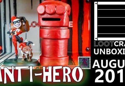 Loot Crate – August 2016 Anti-Hero