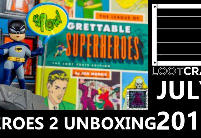 Loot Crate – August 2015 Villains 2