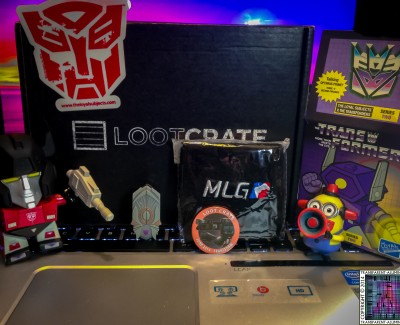 Loot Crate – June 2014 Transformers
