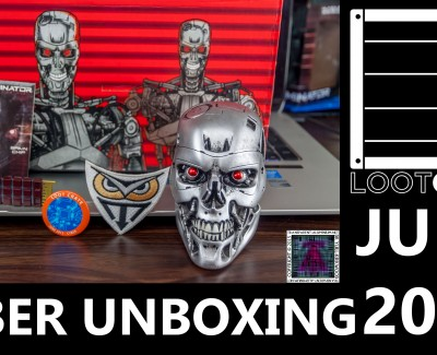 Loot Crate – June 2015 Cyber