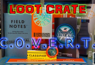 Loot Crate – March 2015 Covert