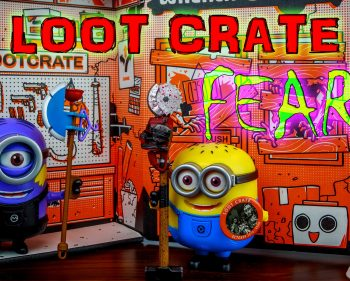 Loot Crate – October 2014 Fear
