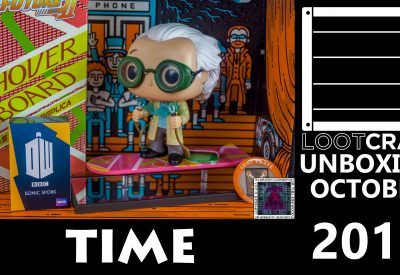 Loot Crate – October 2015 Time