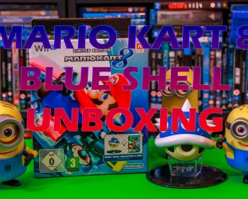 Mario Kart 8 Limited Edition with Blue Shell Figurine Unboxing