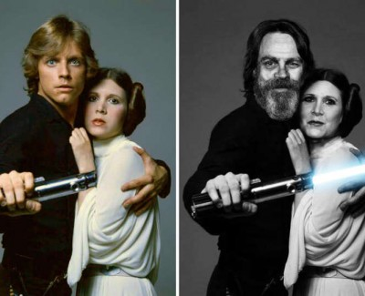 Star Wars Cast Then & Now
