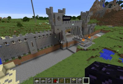 Minecraft – Castle Breaking Ground