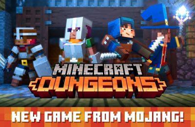 Minecraft Dungeons – E3 2019