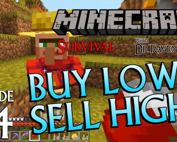 Minecraft Survival: Episode 54 – Buy Low, Sell High Achievement/Trophy