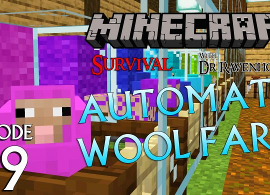 Minecraft Survival: Episode 59 – Automatic Wool Farm