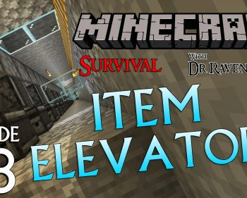 Minecraft Survival: Episode 78 – Item Elevator Tips and Tricks