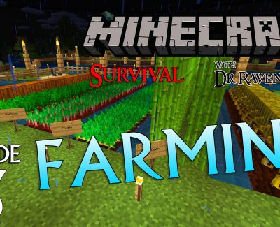 Minecraft Survival: Episode 13 – Farming