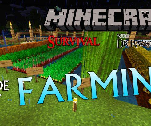 Minecraft Survival: Episode 13 – Farming