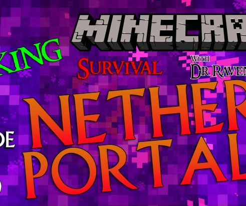 Minecraft Survival: Episode 16 – Linking Nether Portals