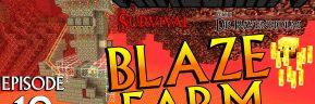 Minecraft Survival: Episode 18 – Blaze Farm