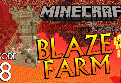 Minecraft Survival: Episode 18 – Blaze Farm