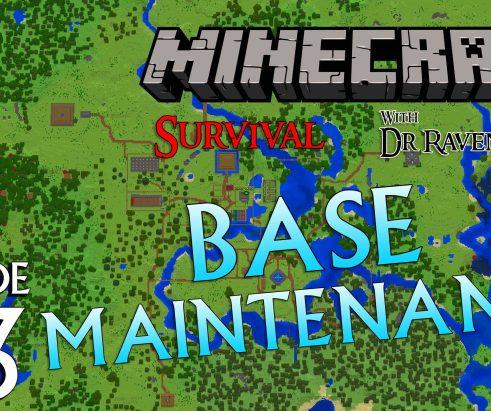 Minecraft Survival: Episode 23 – Base Maintenance