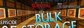 Minecraft Survival: Episode 25 – Bulk Storage