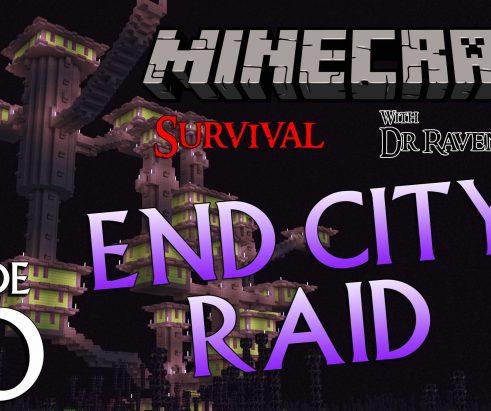 Minecraft Survival: Episode 30 – End City Raid