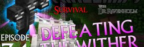 Minecraft Survival: Episode 34 – Defeating The Wither