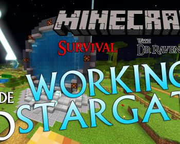 Minecraft Survival: Episode 40 – Build A Working Stargate