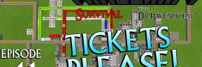Minecraft Survival: Episode 41 – Automatic Minecart Rail Line Selector