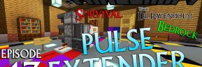 Minecraft Survival: Episode 43 – Compact Bedrock Redstone Pulse Extender