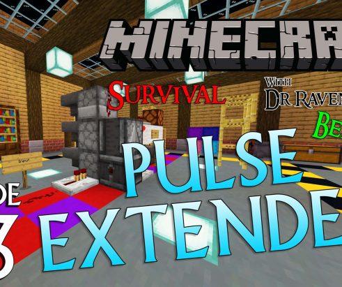 Minecraft Survival: Episode 43 – Compact Bedrock Redstone Pulse Extender