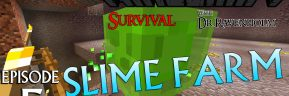 Minecraft Survival: Episode 5 – Slime Farm