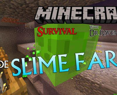 Minecraft Survival: Episode 5 – Slime Farm