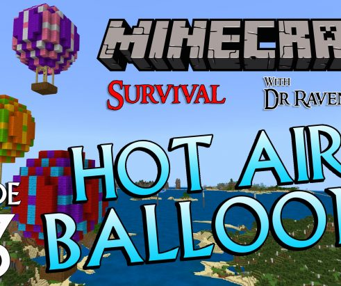 Minecraft Survival: Episode 63 – Hot Air Balloon