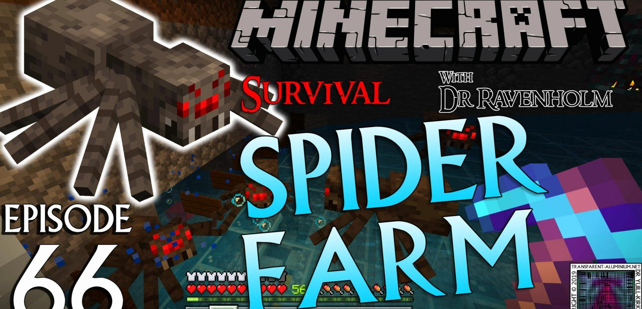 Minecraft Survival: Episode 66 – Bedrock Spider Farm