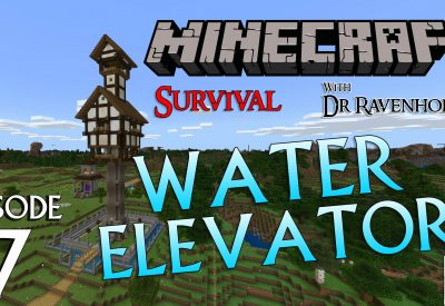 Minecraft Survival: Episode 7 – Water Elevator