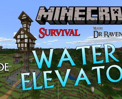 Minecraft Survival: Episode 7 – Water Elevator