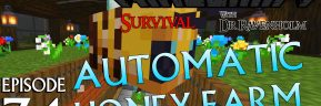 Minecraft Survival: Episode 74 – Automatic Honey Farm