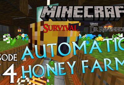 Minecraft Survival: Episode 74 – Automatic Honey Farm