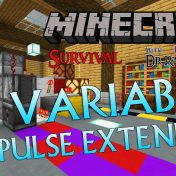 Minecraft Survival: Episode 75 – Compact Variable Redstone Pulse Extender Update