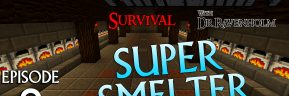 Minecraft Survival: Episode 8 – Super Smelter