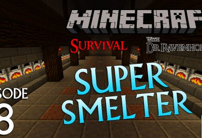 Minecraft Survival: Episode 8 – Super Smelter