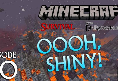 Minecraft Survival: Episode 80 – Oooh, Shinny Achievement and Trophy