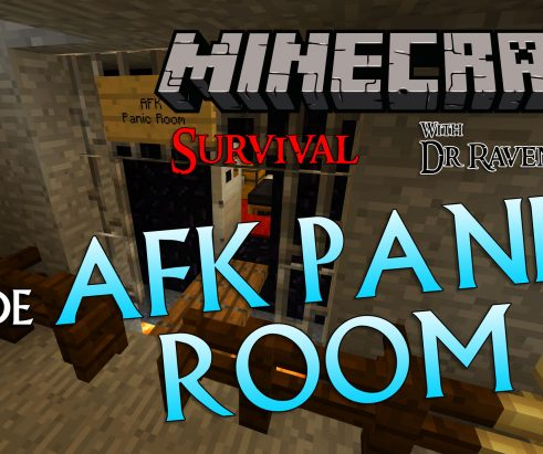 Minecraft Survival: Episode 9 – AFK Panic Room