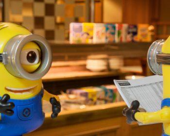 The Minions Working Breakfast