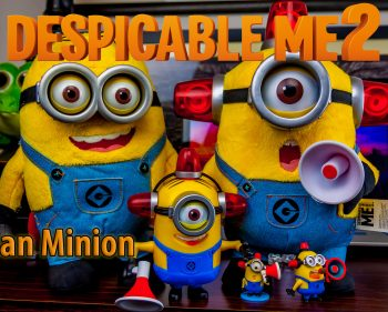 Despicable Me 2 – Talking Plush Fireman Minion Toy